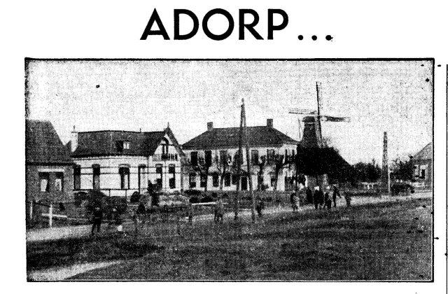 Foto from Adorp 1934