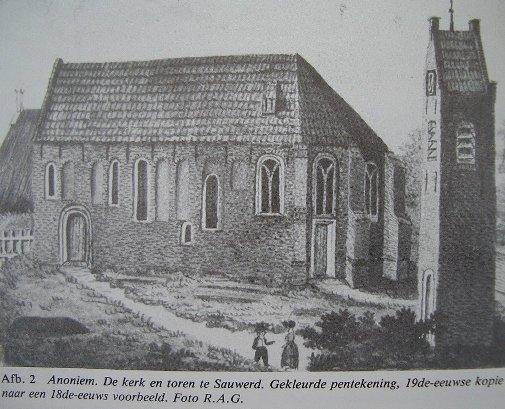 arch onderzoek kerk Sauwerd 004