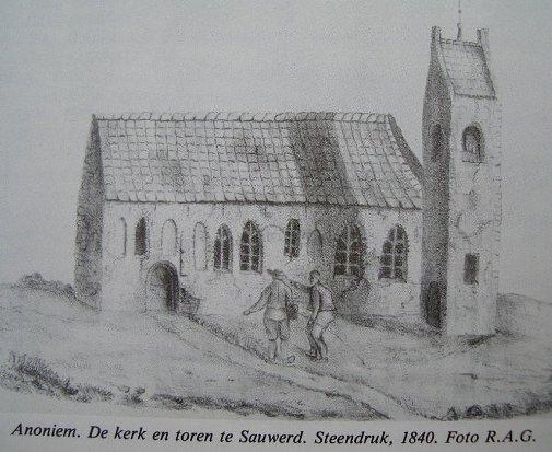 arch onderzoek kerk Sauwerd 005