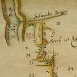 Kaart Wierum 1675